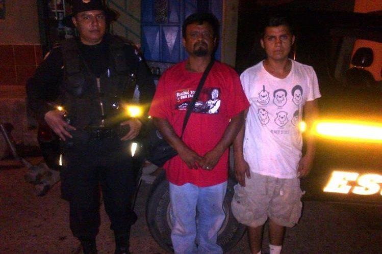 Dos hombres de nacionalidad mexicana son señalados de tráfico de personas. (Foto Prensa Libre: Carlos Paredes)
