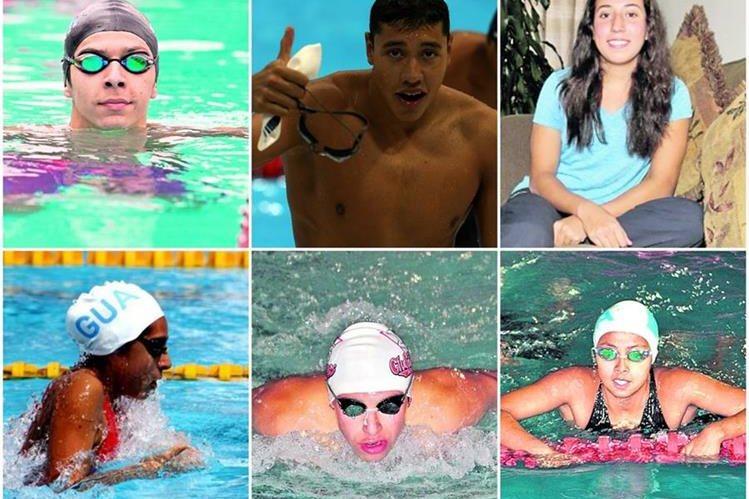 Seis atletas guatemaltecos guatemaltecos tendrán en el Campeonato Mundial de la Fina que se realiza en Hungría. (Foto Prensa Libre).