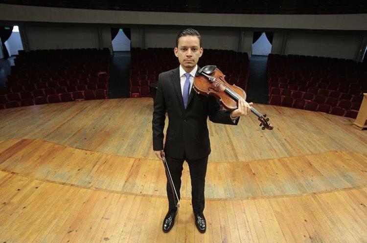 Reyes es parte de la Orquesta Sinfónica Nacional desde hace 13 años.