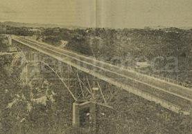 El puente Belice fue inaugurado en 1958. (Foto: Hemeroteca PL)