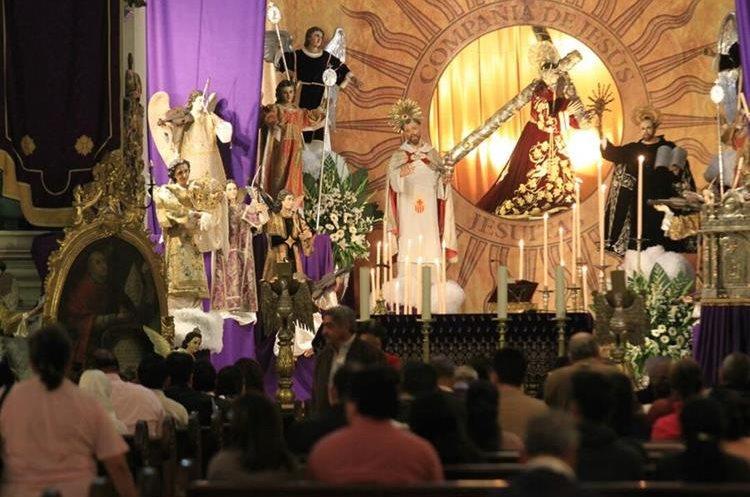 En la iglesia de Nuestra Señora de las Mercedes se puede apreciar en el altar mayor al Patrón Jurado de la Ciudad de Guatemala, Jesús de la Merced.