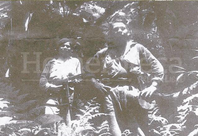 Batallón persigue a insurrectos en Zacapa, en noviembre de 1960. (Foto: Hemeroteca PL)