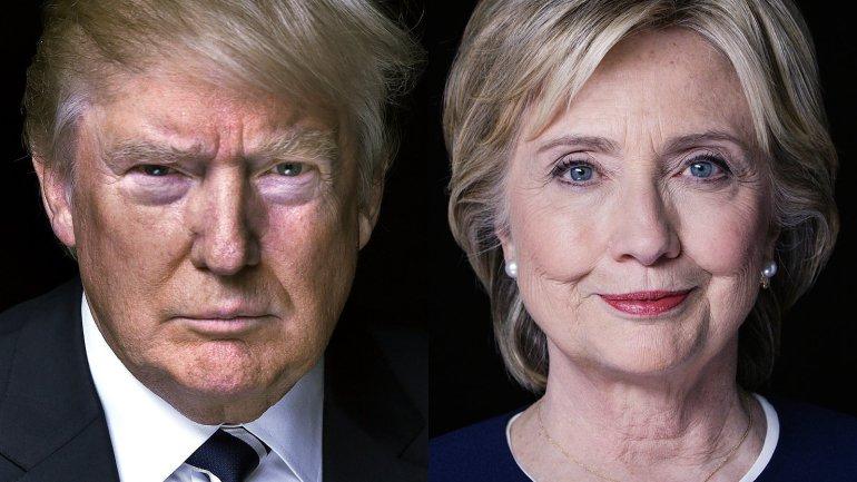 Donald Trump y Hillary Clinton son los protagonistas de las elecciones en Estados Unidos. (Foto Prensa Libre: Hemeroteca PL)