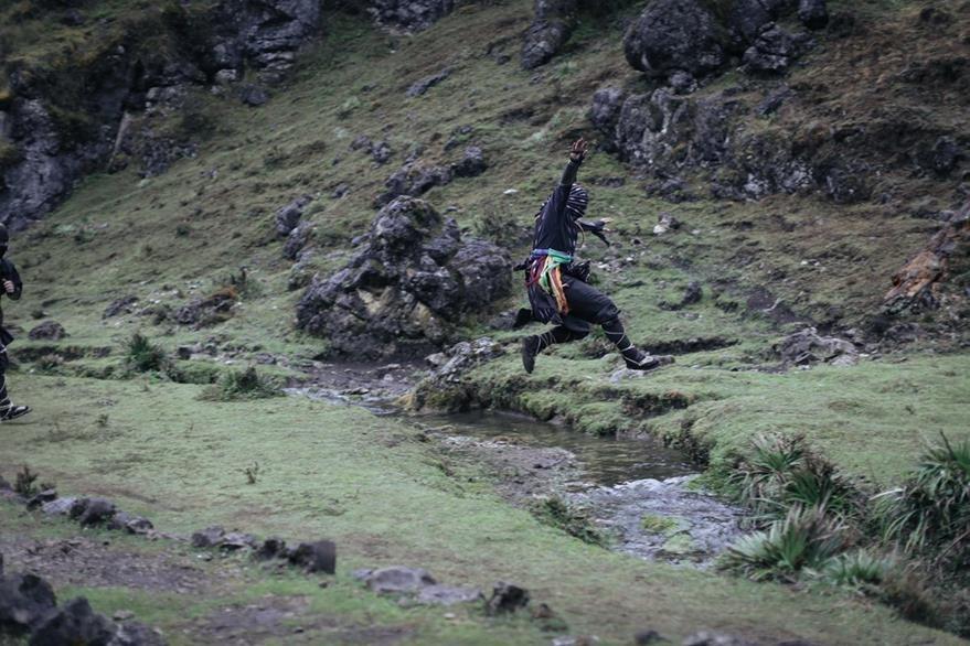 En audiovisual incluye escenas de artes marciales. (Foto Prensa Libre: Cortesía Bohemia Suburbana)