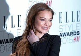 Lindsay Lohan continúa trabajando en diversos proyectos. (Foto Prensa Libre: EFE)