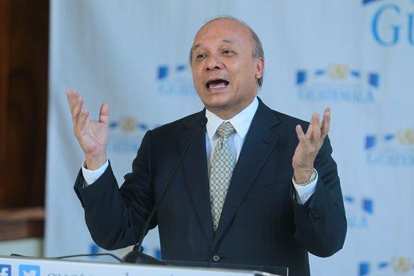 Chea Urruela estará en Río 2016 en lugar del Presidente Morales. (Foto Prensa Libre: Álvaro Interiano)