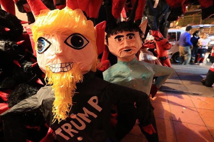 Las Piñatas de Donald Trump  por segundo año consecutivo son de las más requeridas