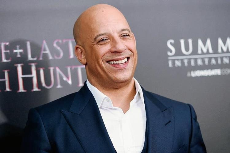 Vien Diesel es uno de los grandes astros de la acción en Hollywood (Foto Prensa Libre: AP).