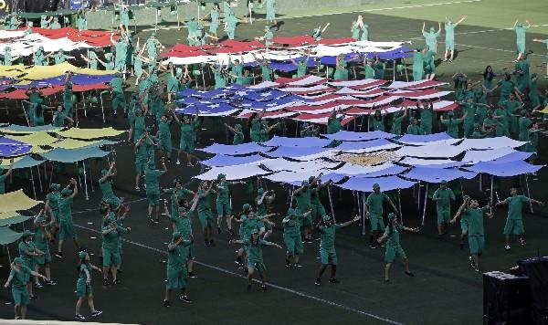 La fiesta de la Copa América arrancó este viernes en Santa Clara, California. (Foto Prensa Libre: AP).