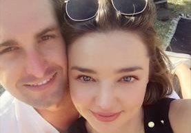Miranda Kerr y Evan Spiegel se casaron luego de dos años de noviazgo. (Foto Prensa Libre: Instagram)