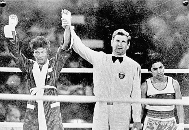 Carlos Motta estuvo a punto de darle a Guatemala su primera medalla en Los Ángeles 1984. (Foto: Hemeroteca PL)