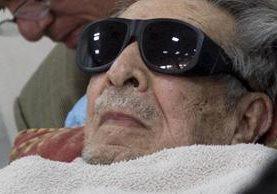 Efraín Ríos Montt será enjuiciado de nuevo por genocidio. (Foto Prensa Libre: Hemeroteca PL)<br />