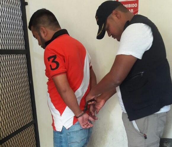 José Cortez Zarceño habría disparado contra un agente de la PNC. (Foto Prensa Libre: Cortesía PNC).