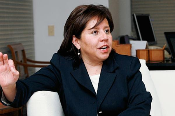 María del Pilar Hurtadofue jefa de servicios de inteligencia durante la Presidencia de Álvaro Uribe.