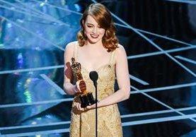 Emma Stone ganó el Oscar como Mejor Actriz por su actuación en La La Land (2016). (Foto: Hemeroteca PL).