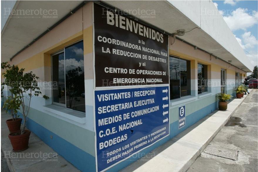 Sede de la Coordinadora Nacional para Reducción de Desastres (Conred) en la ciudad de Guatemala. (Foto: Hemeroteca PL)