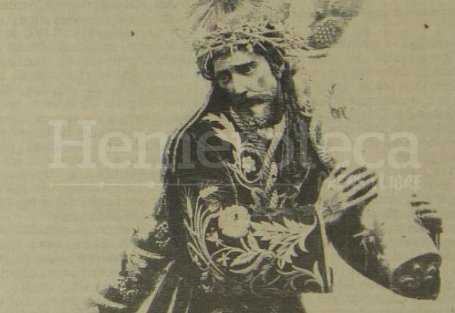 Jesús de la Merced en una foto de principios del siglo XX. (Foto: Hemeroteca PL)