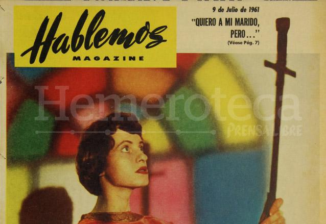 Detalle de la Revista Hablemos del 9 de julio de 1961. (Foto: Hemeroteca PL)