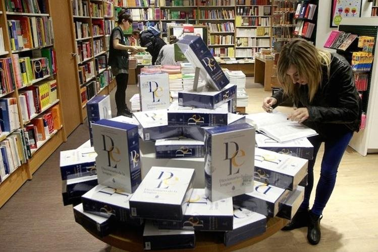 En la página web de la RAE se podrán comprobar algunas de las múltiples novedades que contiene la 23 edición del Diccionario de la lengua española. (Foto Prensa Libre: Tomada de www.rae.es)