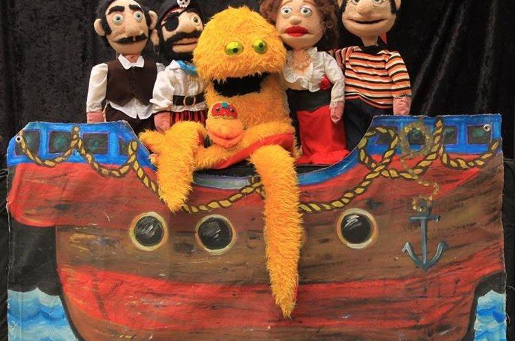 Barco a la vista es una de las obras para toda la familia. (Foto Prensa Libre: Cortesía del comité organizador).