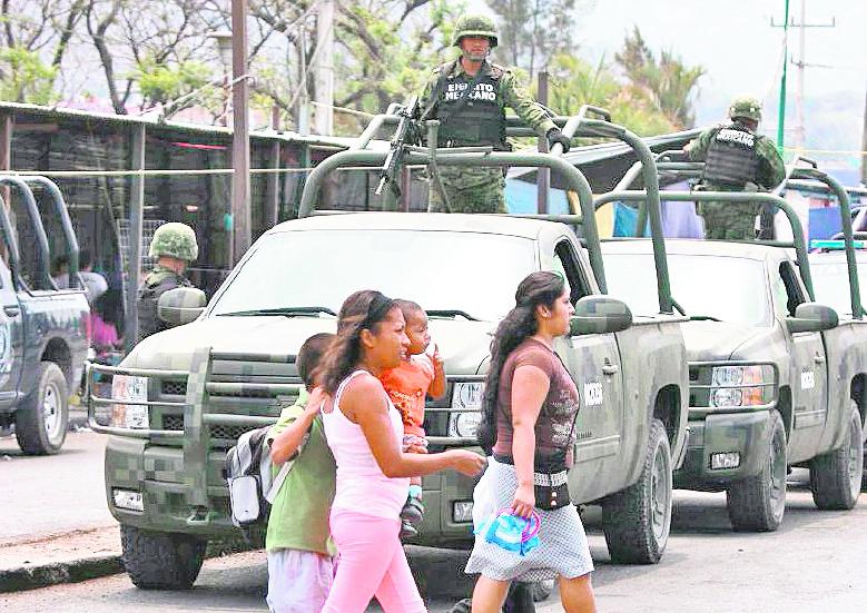 Guerrero, uno de los estados más violentos de México. (Foto Hemeroteca PL).