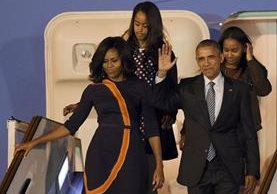 Minoritarias agrupaciones de izquierda convocaron a movilizaciones el miércoles contra la presencia de Obama. (Foto Prensa Libre: AFP).