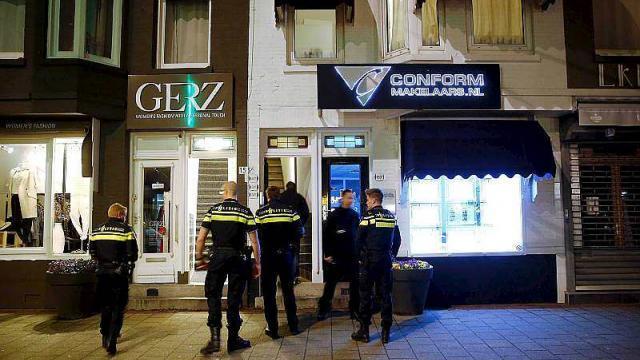 Apartamento en Rotterdam, donde Anis Bahri fue detenido a finales de marzo.(AFP):