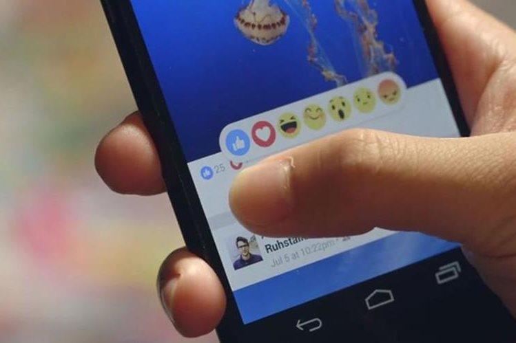 A principios de año Facebook agregó nuevas imágenes para responder a las publicaciones. Anteriormente solo existía el Like (Me gusta). (Foto Prensa Libre: Mashable).
