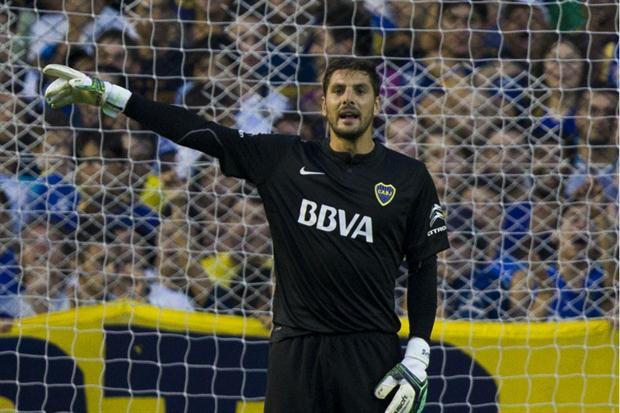 Guillermo Sara será una baja sensible para el conjunto xeneixe. (Foto Prensa Libre: Hemeroteca)