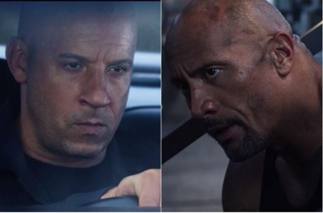 En 2016 comenzaron los rumores de conflictos entre Vin Diesel y Dwayne Johnson