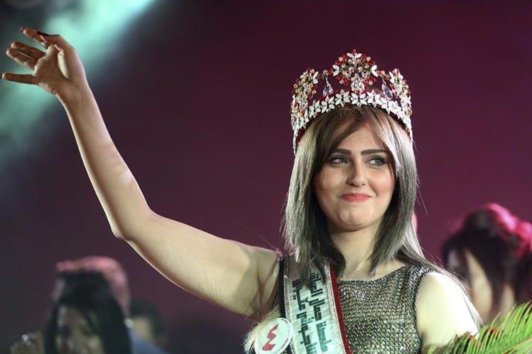 Irak coronó a Shaymaa Qasim Abdelrahman como la máxima representante de la belleza del país, luego de 42 años sin reina. (Foto Prensa Libre: Hemeroteca PL)