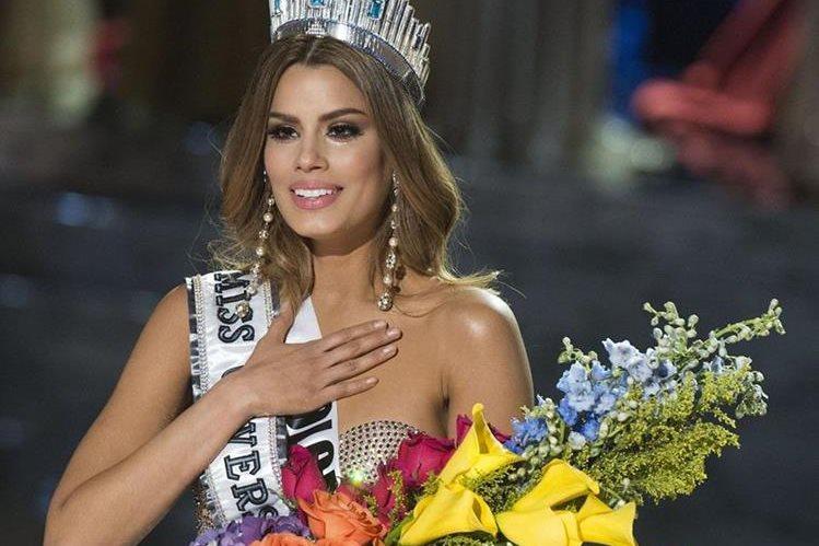 La reina colombiana asegura que no siente rencor por lo ocurrido el día de la coronación de Miss Universo. (Foto Prensa Libre: AFP)