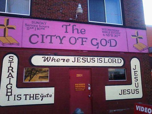 """La iglesia """"Ciudad de Dios"""" en Detroit. (Foto Prensa Libre: Facebook)"""