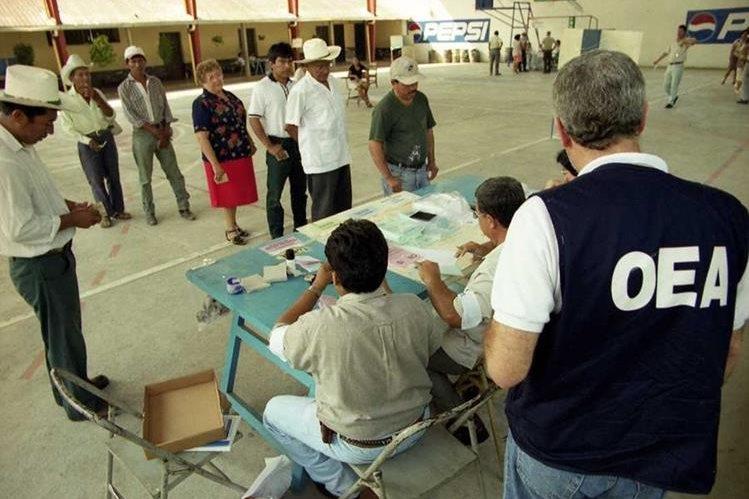 Guatemaltecos iran a las urnas el próximo 6 de septiembre (Foto Prensa Libre: Hemeroteca PL)