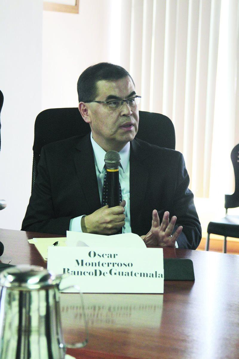 Óscar Monterroso Sazo, actual gerente económico del Banguat, ocupará la gerencia general a partir del 20 de marzo. (Foto: Hemeroteca PL)