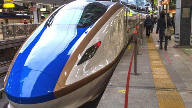 El niobio es usado en los trenes de levitación magnética, como éste en Japón... GETTY IMAGES