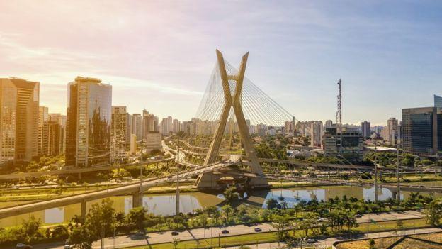 La ciudad brasileña de Sao Paulo ocupa la segunda posición. GETTY IMAGES