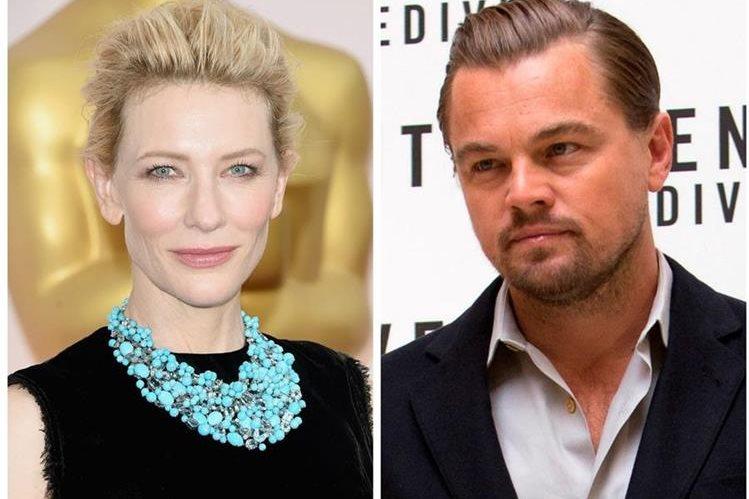 Cate Blanchett compite con Carol y Leonardo DiCaprio con The Revenant. (Foto Prensa Libre: Hemeroteca PL)