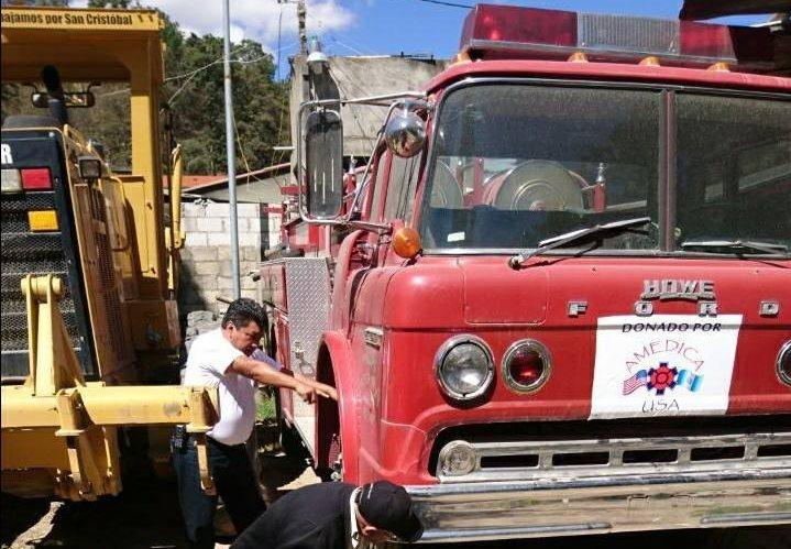 La unidad se encontraba en un terreno municipal, donde desconocidos ingresaron. (Foto Prensa Libre: Cortesía)