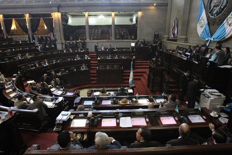 Diputados aprueban en tercera lectura las reformas a la Ley Electoral y de Partidos Politicos. (Foto Prensa Libre: Hemeroteca PL)
