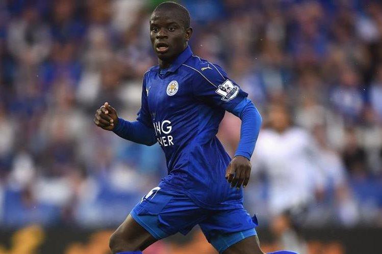 Kanté disputó la Eurocopa con Francia en este 2016. (Foto Prensa Libre: Chelsea FC)