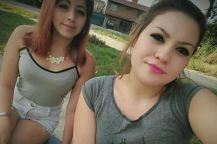 Denise Juárez y Sabrina Barrientos solían subir fotografías a Facebook para demostrar su amistad. FACEBOOK