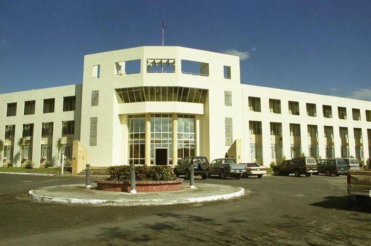 Edificio de oficinas del Gobierno en Belmopan, Belice. (Foto Prensa Libre: Hemeroteca PL)
