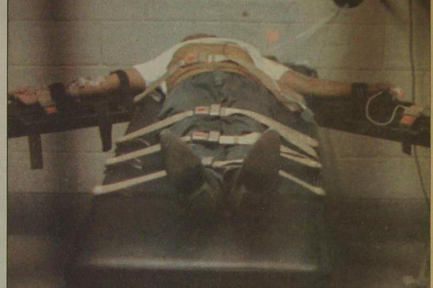 04/03/1998 Ejecución de la pena de muerte por inyección letal. (PL-archivo)