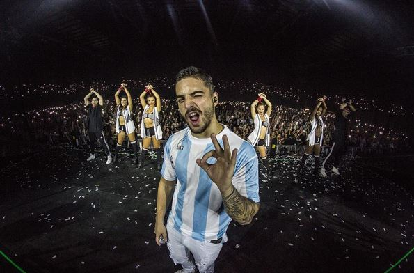 Maluma se encuentra de gira por Argentina. (Foto Prensa Libre: Instagram/Maluma)