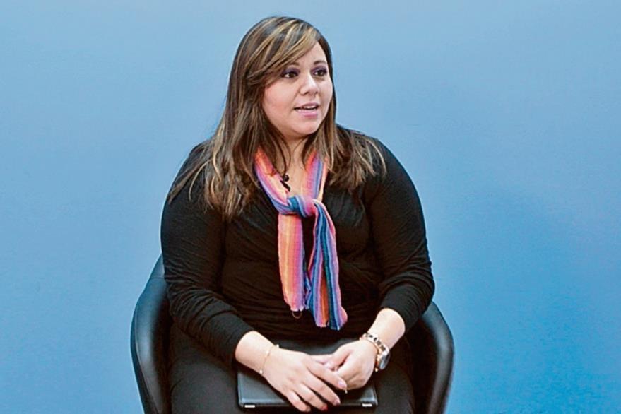 La psicóloga Mónica Godínez afirma que las parejas deben fomentar la comunicación.(Foto Prensa Libre: Yadira Montes).