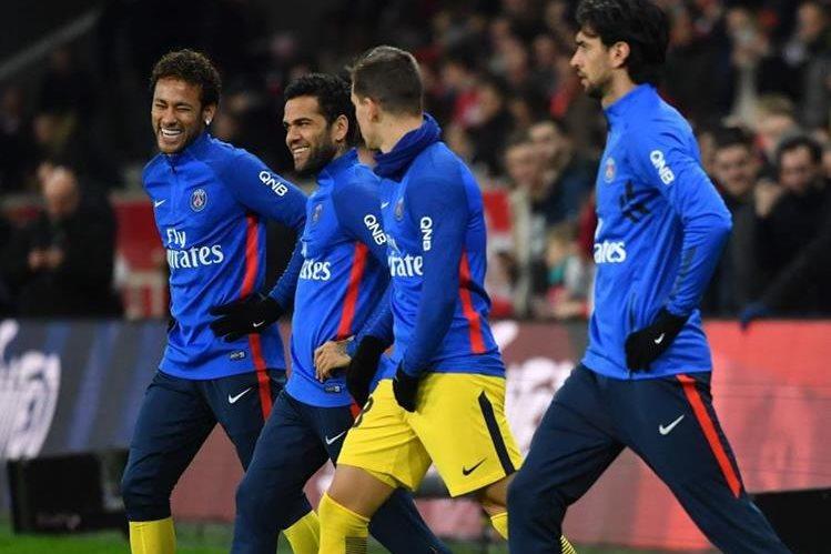 El PSG desembolsara €222 millones para fichar al brasileño Neymar. (Foto Prensa Libre: AFP).
