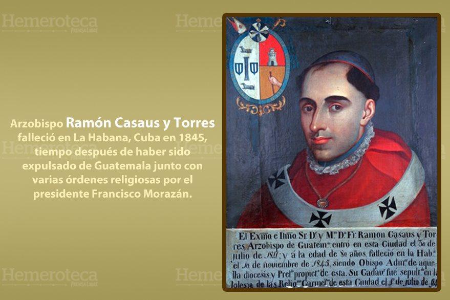 Ramón Casaus Torres, arzobispo de Guatemala. (Foto: Hemeroteca PL)