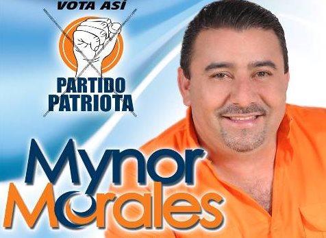 Mynor Morales intentó postularse a la alcaldía de San Miguel Petapa pero no fue inscrito por el TSE. (Foto Prensa Libre: Facebook).