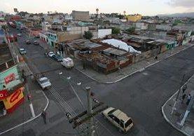 Panorámica de un sector de la colonia La Florida, zona 19 de la capital. (Foto Prensa Libre: Hemeroteca PL)